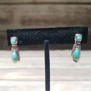 Jewelry - Whitney Kelly Sterling Silver Turquoise Earrings